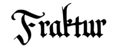 Esempio di font 7